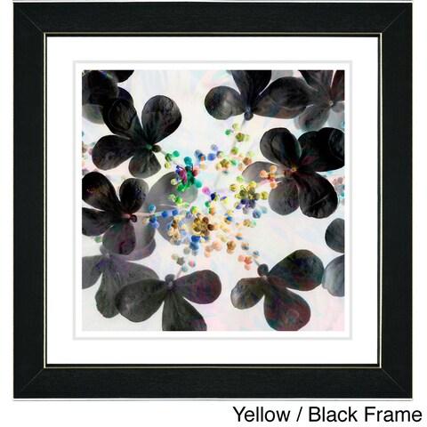 Zhee Singer 'Summer Walk Floral' Framed Fine Art Print