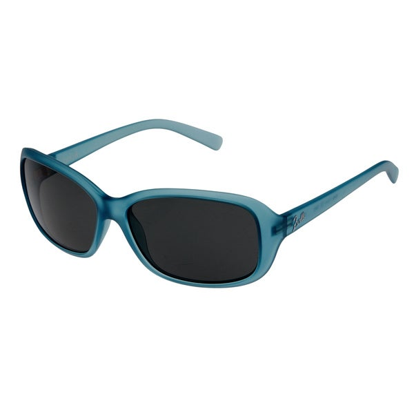 Bolle Women's 'Molly' Satin Crystal Blue Fashion Sunglasses