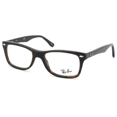 Ray-Ban 'RX 5228 2012' Womens Dark Havana Plastic Eyeglass Frames