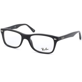 Ray-Ban 'RX 5228 2000' Shiny Black Plastic Eyeglasses Frames (2 options available)