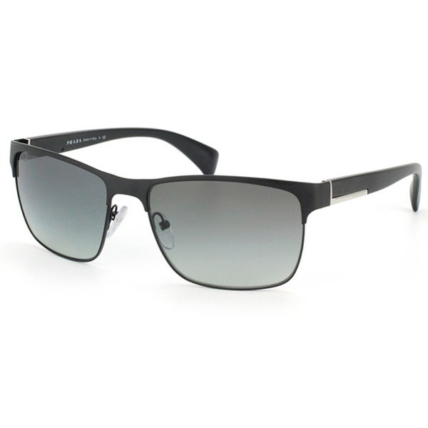 d35a3b68bc556 Shop Prada Unisex  PR 51OS FAD3M1  Matte Black Sunglasses - Free ...