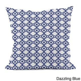 16 x 16-inch Geometric Decorative Throw Pillow