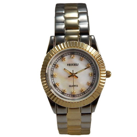 Vecceli Women's Fashion Two-tone Watch
