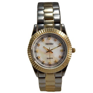 Vecceli Women's L-526-W Fashion Two-tone Watch
