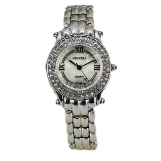 Vecceli Women's Fashion L-518-W-S Silver Watch