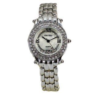 Vecceli Women's Fashion Silver Watch