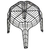 Metal Wire 20-inch Side Stool