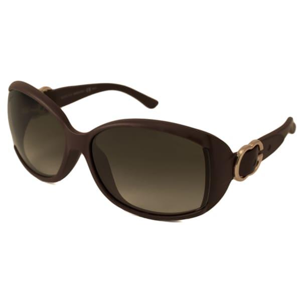 Gucci Women's GG3521 F Rectangular Sunglasses