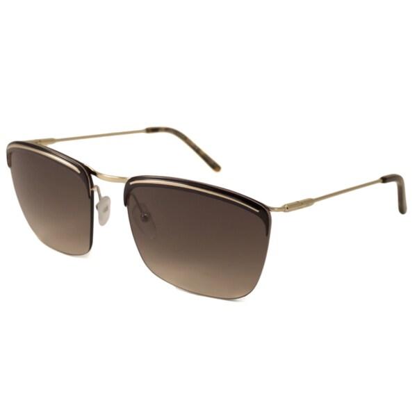 dc5fb90a53 Shop Balenciaga Women s BAL0129 Rectangular Sunglasses - Free ...