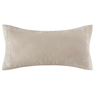 Echo Design Odyssey Oblong Khaki Cotton Pillow