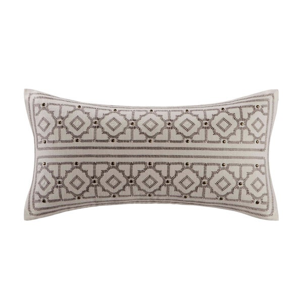 Echo Design Odyssey Oblong Embroidered Throw Pillow