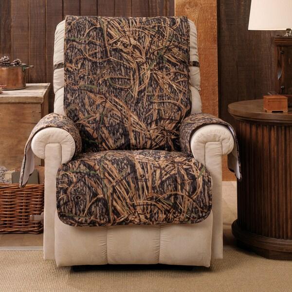 Mossy Oak Furniture ~ Mossy oak shadow grass recliner wing chair furniture