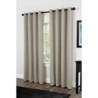 Villamora Grommet Top Thermal Insulated 84 inch Curtain Panel Pair