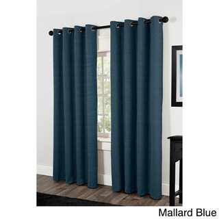 Oliver & James Botero Thermal Insulated Grommet Top Curtain Panel Pair (More options available)