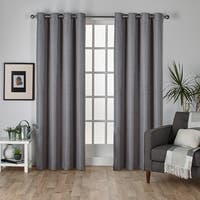Oliver & James Botero Thermal Insulated Grommet Top Curtain Panel Pair