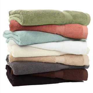 Rayon from Bamboo Rayon 3-piece Towel Set with Bonus 3-piece Towel Set