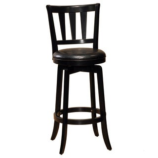 Presque Isle Wood and Vinyl Stool