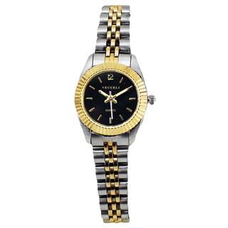 Vecceli Women's Fashion Two-tone Watch|https://ak1.ostkcdn.com/images/products/8896979/Vecceli-Womens-Fashion-Two-tone-Watch-P16117459.jpg?_ostk_perf_=percv&impolicy=medium