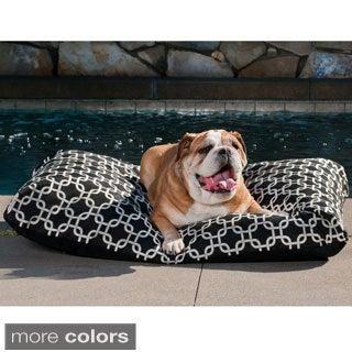 Indoor/Outdoor Links Design Pet Bed