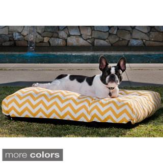 Indoor/ Outdoor Chevron Pet Bed