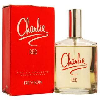 Revlon 'Charlie Red' Women's 3.4-ounce Eau de Toilette (Tester)