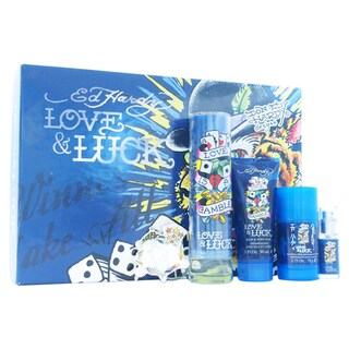 Ed Hardy Love & Luck Men's 5-piece Gift Set