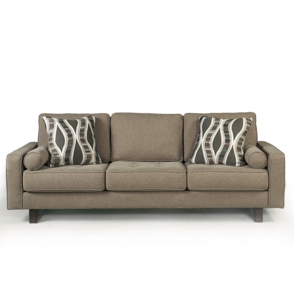Signature Design By Ashley Treylan Smoke Sofa And Accent