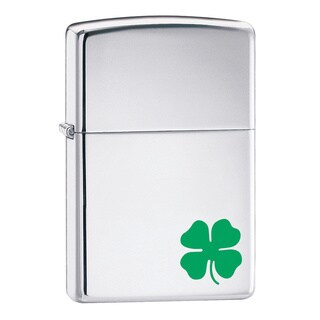 Zippo Windproof Irish Chrome Lighter