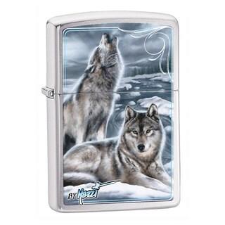 Zippo Windproof Wolf Blue Lighter