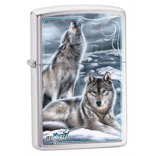 Zippo Windproof Wolf Blue Lighter