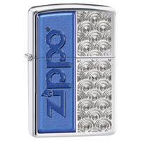 Zippo Windproof Blue Swirl Lighter
