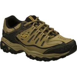 Men's Skechers After Burn Memory Fit Pebble/Black