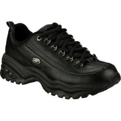 Women's Skechers Energy 3 Premium Black Leather (B)