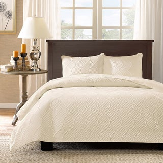 Madison Park Adelle 3-piece Coverlet Set