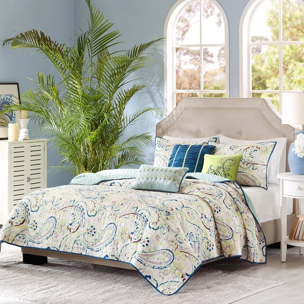 quilts comforter piece park store lola beyond in quilt bed aqua madison bath product set