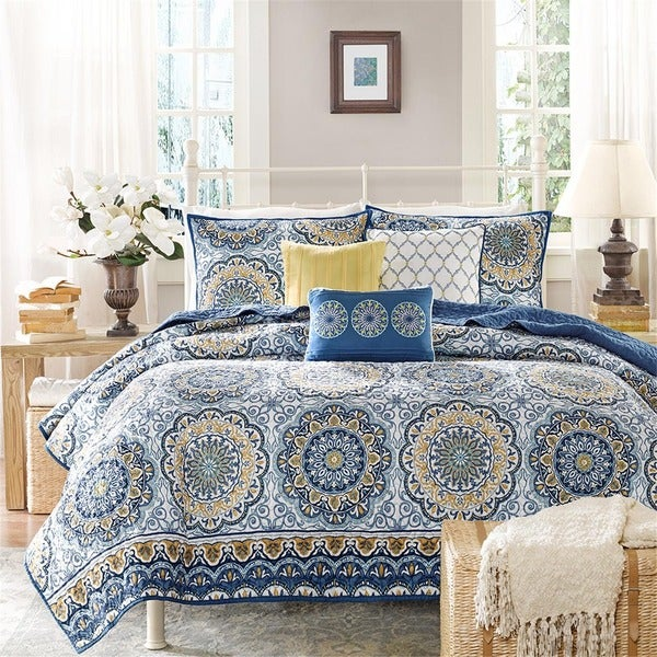 Madison Park Moraga 6-PC Coverlet Set