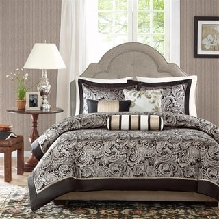 Madison Park Wellington 6-piece Duvet Cover Set