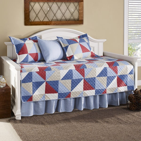 Eddie Bauer Chelan 5 Piece Quilted Daybed Cover Set Free