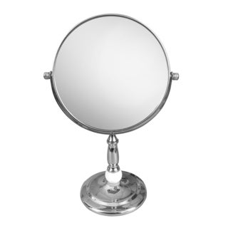 Free Standing Victorian Style 5X Magnifying Makeup Mirror by Elegant Home Fashions