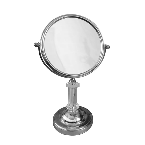 bathroom magnifying mirror. Free Standing Roman Pedestal 5X Magnifying Makeup Mirror Bathroom