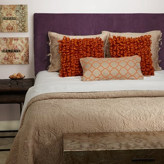 Humble + Haute Stratton Plum Full Tufted Upholstered Headboard