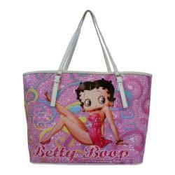 Women's Betty Boop Signature Product Betty Boop Handbag BP2084 White