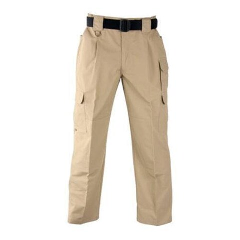 Men's Propper Tactical Pant Poly/Cotton Ripstop Unhemmed Khaki