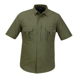 Men's Propper Summerweight Tactical Shirt - Short Sleeve Olive Green