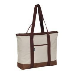 Everest Shopping Tote DS (Set of 2) Beige/Brown