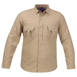 Men's Propper Summerweight Tactical LS Shirt Khaki