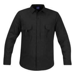 Men's Propper Summerweight Tactical LS Shirt - Long Black