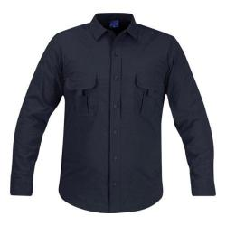 Men's Propper Summerweight Tactical LS Shirt - Long LAPD Navy