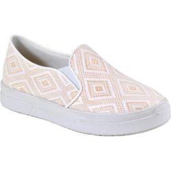 Women's Reneeze Olga-4 Tribal Slip On Sneaker Beige Synthetic