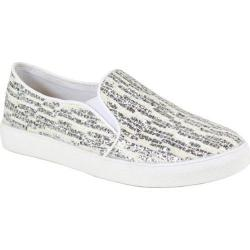 Women's Reneeze Oma-3 Glitter Slip On Sneaker White Synthetic